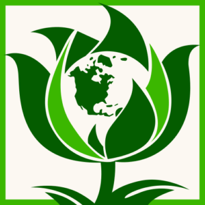 green party world logo